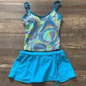 Tropical escape cute bathing suit